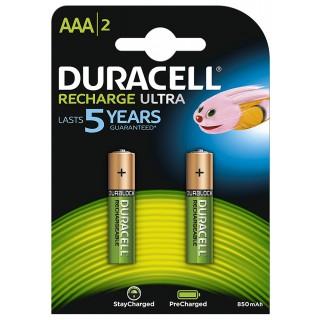 DURACELL Batterie Ultra wiederaufladbar AAA 2 Stück