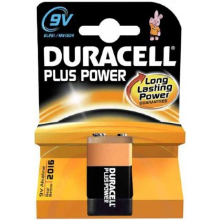 DURACELL Blockbatterie Plus Power MN1604 9 Volt
