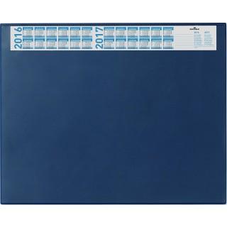 DURABLE Schreibunterlage mit Jahreskalender 65 x 52 cm blau