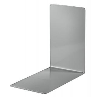 ALCO Buchstützen Metall 8,5 x 14,0 cm 2 Stück grau
