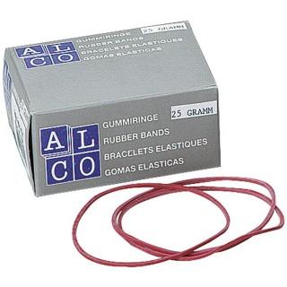 ALCO Gummiringe 50 g 100 mm 737/1 rot