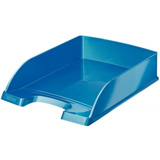 LEITZ Briefkorb A4 blau metallic