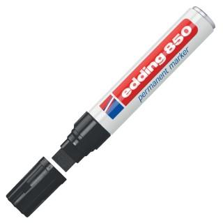 EDDING Permanentmarker 850 mit Keilspitze 5-15 mm schwarz