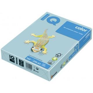 IQ Color Kopierpapier A4 120 g/m² 250 Blatt pastell mittelblau