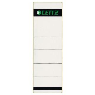 LEITZ Rückenschilder für Ordner selbtklebend 62 x 285 mm 100 Stück weiß