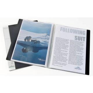 DURABLE Sichtbuch 2423 20 mm mit 30 Hüllen schwarz