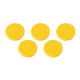 ALCO Magnete 685 40 mm 10 Stück gelb
