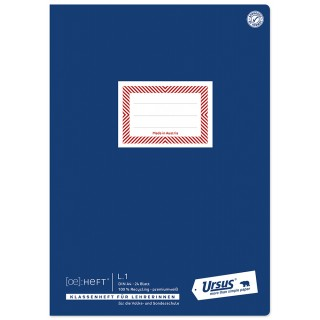 URSUS Ö-Heft LehrerInnen L.1 A4 80 g/m2 22 Blatt