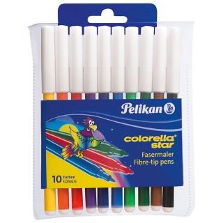 PELIKAN Faserschreiber 302/10 Star 10 Stück mehrere Farben