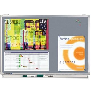 LEGAMASTER Pinboard Professional 100 x 150 cm grau