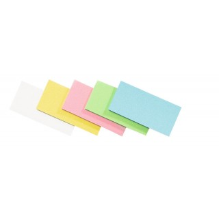 LEGAMASTER Moderationskarten Rechtecke 500 Stück 10 x 20 cm sortiert
