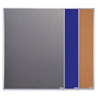 MAGNETOPLAN Pinnwand Filz 150 x 120 cm blau