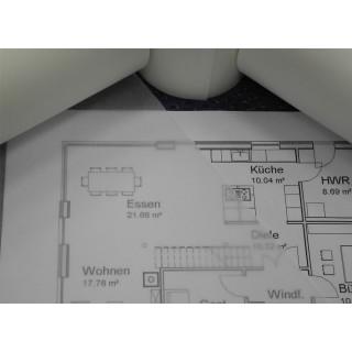 Skizzenpapier Aquafix 30 cm x 200 lfm 24 g/m² weiß