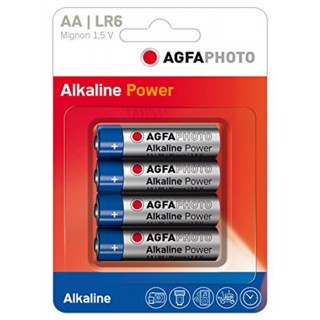 AGFA PHOTO Batterien 4 Stück Mignon AA