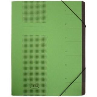 ELBA Ordnungsmappe Chic 7-teilig grün