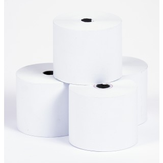 Additionsrollen 10 Stück 57/40/12 mm weiß