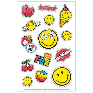 HERLITZ Sticker SmileyWorld Girly selbstklebend 3 Bogen