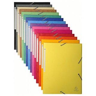 EXACOMPTA Sammelmappe DIN A4 Karton mehrere Farben