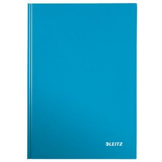 LEITZ Notizbuch WOW A4 80 Blatt kariert blau