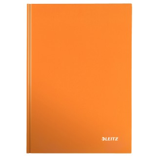LEITZ Notizbuch WOW A4 80 Blatt kariert orange