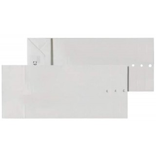 ÖKI Warenprobesäcke 200 Stück 24 x 42 cm 110 g/m² weiß