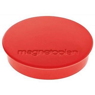 MAGNETOPLAN Magnet Discofix 34 mm 10 Stück rot