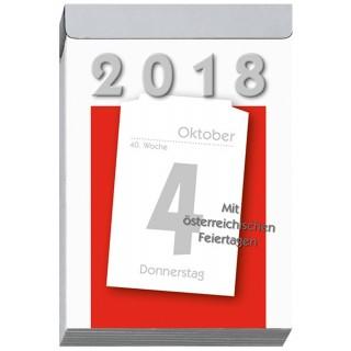 LEYKAM Tagesabreißkalender KA04 83 x 128 mm 1 Tag pro Seite 2020