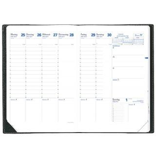 QUO VADIS Kalender-Einlage Trinote 18 x 24 cm 1 Woche auf 2 Seiten für 2021