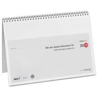 Wochenvormerkkalender 4702 A4 7 Spalten 2018