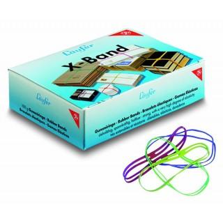 LÄUFER Kreuzbandband Rondella X-Band 15 x 1,1 cm bunt