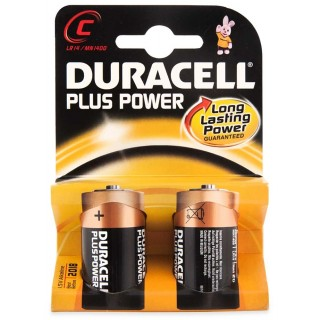 DURACELL Batterie Plus Power MN1400 C 2 Stück