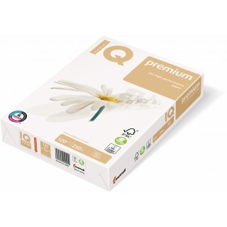 IQ premium Kopierpapier A3 120g/m² 250 Blatt weiß