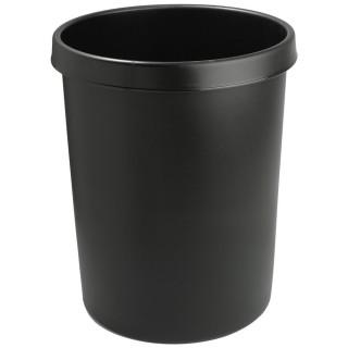 HELIT Papierkorb 6106295 45 Liter schwarz