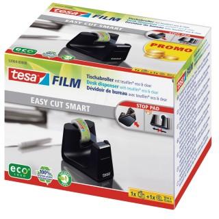 TESA Abroller Easy Cut Smart 53904 inkl. Klebeband 15 mm x 10 m