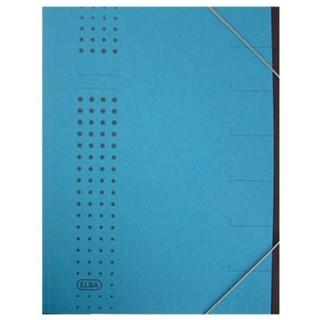 ELBA Ordnungsmappe 2020 A4 1-7 blau