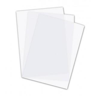 RECOsystems Deckblatt A4 0,30 mm 100 Stück matt transparent