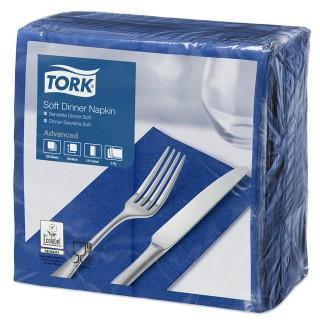 TORK Serviette 3-lagig 100 Stück blau