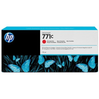 HP Tinte Nr.771C chrom red 775 ml