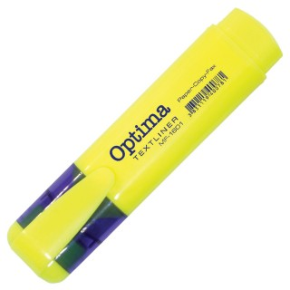 OPTIMA Textmarker Keilspitze 1-5 mm gelb