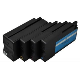 FREECOLOR Tinte für HP 950+951XL schwarz/cyan/gelb/magenta