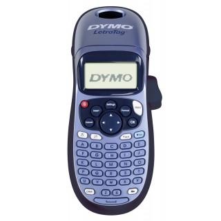 DYMO Etikettendrucker Handgerät Letra Tag LT-100H blau