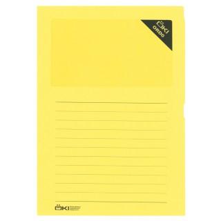 ÖKI Organisationsmappen 100 Stück intensiv gelb