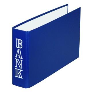 PAGRO Bankordner 1/3 A4 dunkelblau