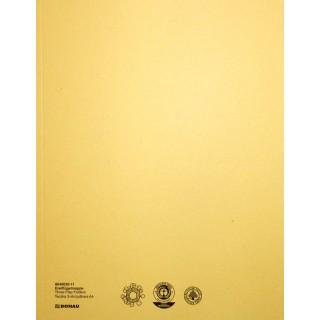 PAGRO Flügelmappe Karton A4 gelb