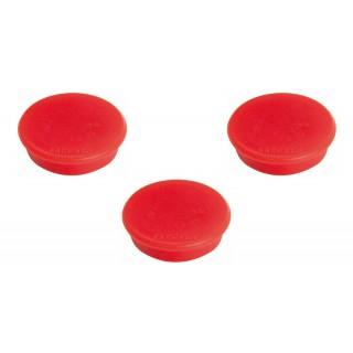 FRANKEN Magnet 32 mm 10 Stück rot