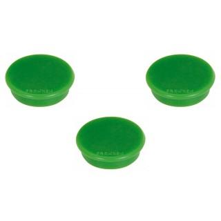 FRANKEN Magnet 32 mm 10 Stück grün