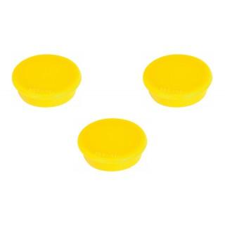 FRANKEN Magnet 32 mm 10 Stück gelb