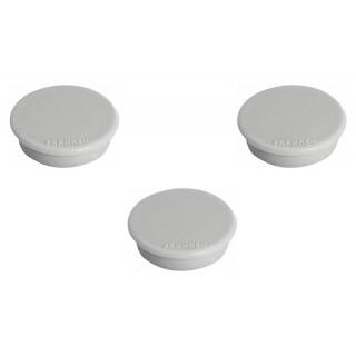 FRANKEN Magnet 32 mm 10 Stück grau