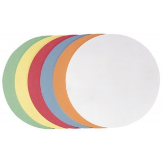 FRANKEN Moderationskarten Kreis 9,5 cm sortiert 500 Stück