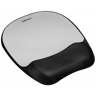 FELLOWES Handgelenksauflage mit Mousepad silber